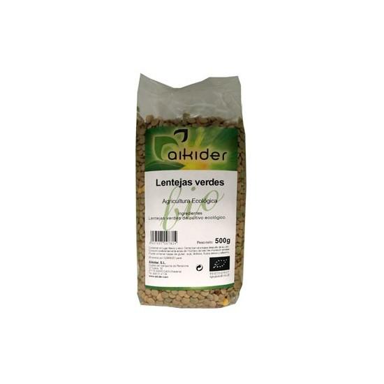 Lentejas verdes bio Aikider 500 gr