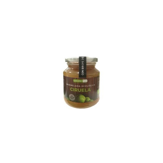 Mermelada ciruela con sirope agave bio Aikider 330 gr