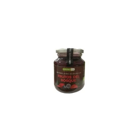 Mermelada frutos del bosque con sirope agave bio Aikider 330 gr