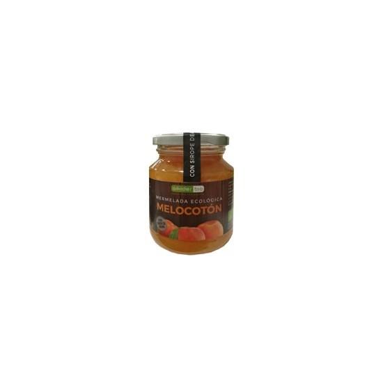 Mermelada melocoton con sirope agave bio Aikider 330 gr