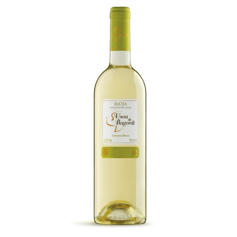 Vino blanco eco 2016 Usoa de Bagordi 750 ml