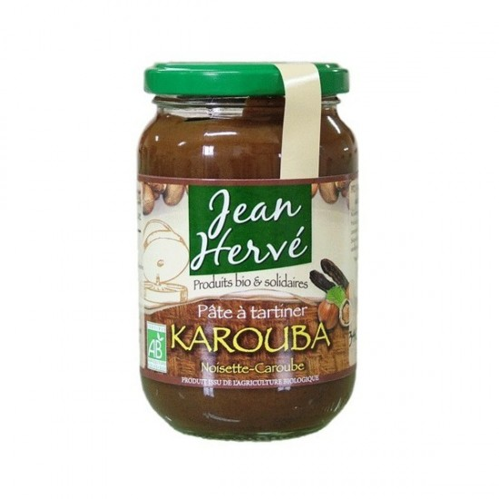 Crema chocolate algarroba bio Jean Herve 340 gr