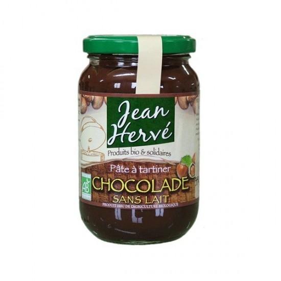 Crema chocolate sin leche bio Jean Herve 350 gr