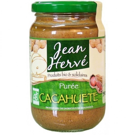 Pure cacahuetes bio Jean Herve 350 gr