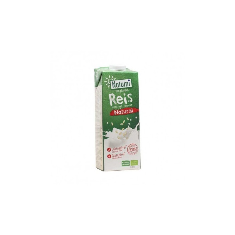 Leche de arroz ecológico Natumi 1 lt