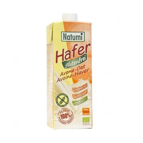 Leche de Avena sin  gluten ecológico bio Natumi 1 lt