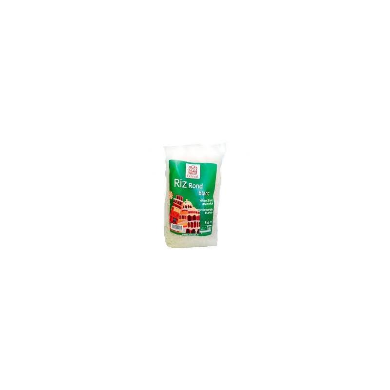 Arroz redondo blanco bio Celnat 1 kg