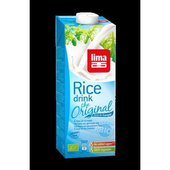 Bebida arroz bio Lima 1 lt