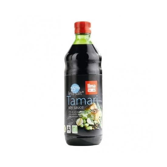 Tamari bajo en sal bio Lima 250 ml
