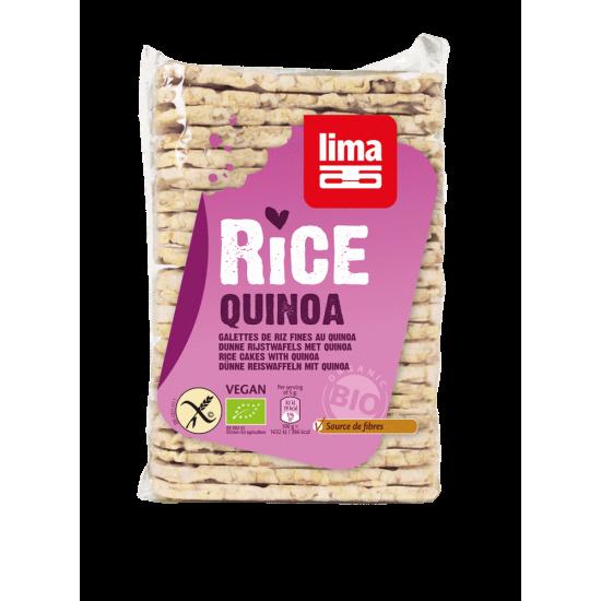 Tortas finas arroz quinoa bio Lima 130 gr