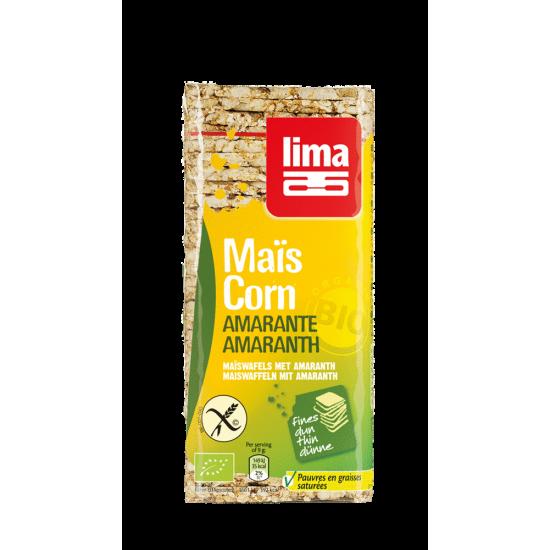 Tortas maiz con amaranto bio Lima 130 gr