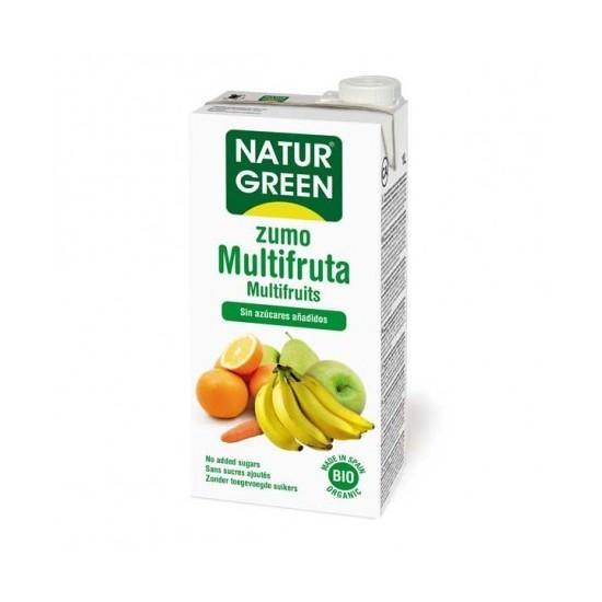 Zumo multifruta bio Naturgreen 1 lt
