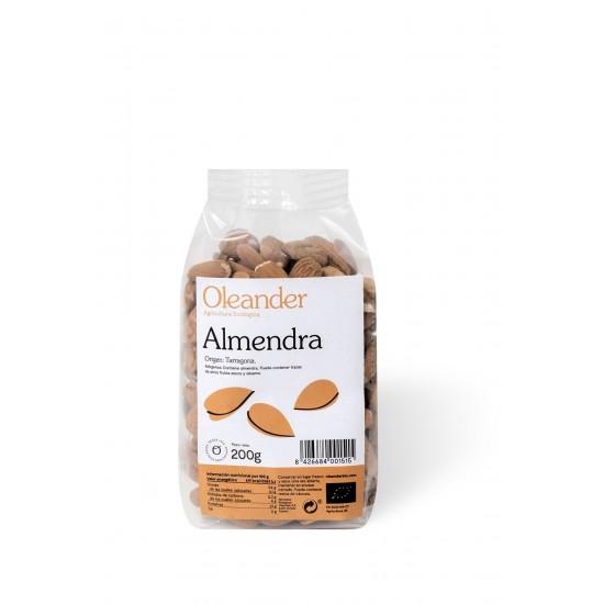 Almendra con piel bio Oleander 200 gr