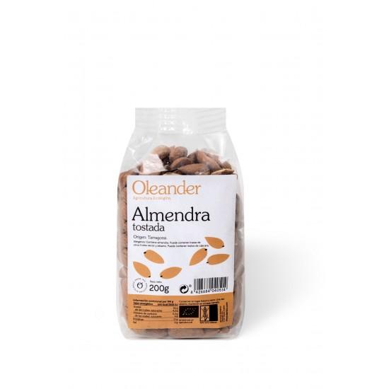 Almendra tostada bio Oleander 200 gr