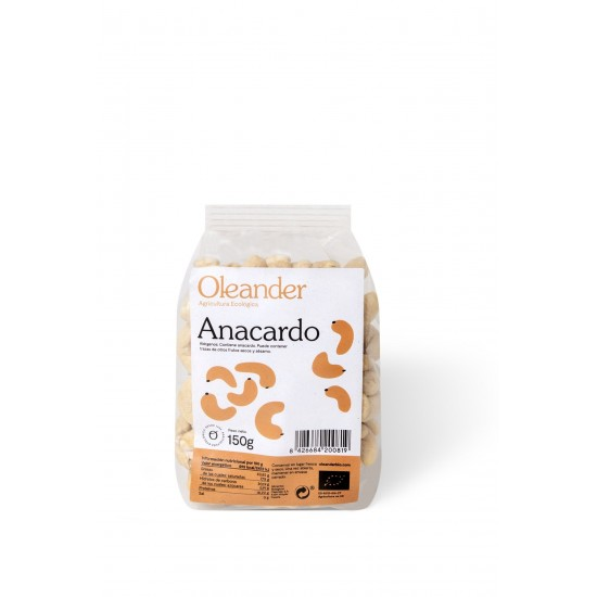 Anacardo crudo bio Oleander 150 gr