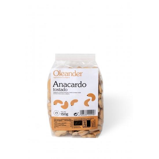 Anacardo tostado bio Oleander 150 gr