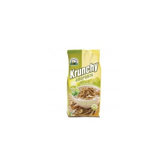 Muesly Krunchy amaranto espelta  almendras y anacardos bio Barnhouse 375 gr