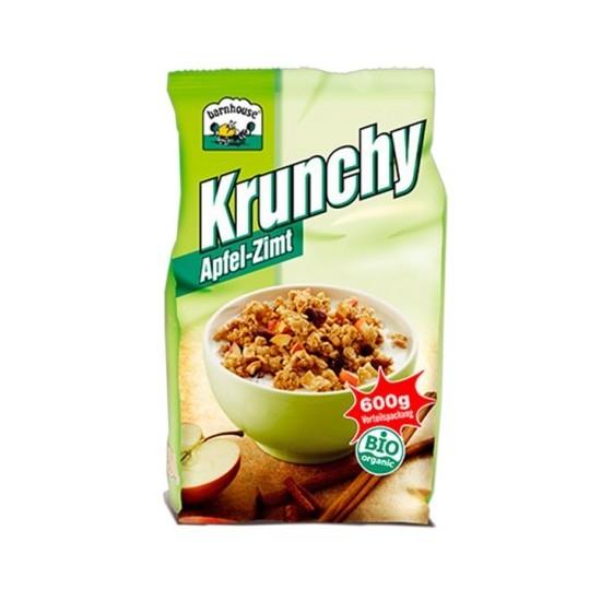 Muesly Krunchy manzana canela bio Barnhouse 600 gr