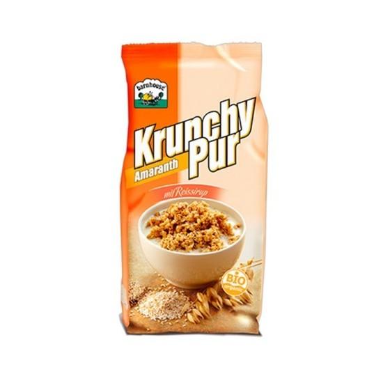 Muesly Krunchy Pur amaranto sin azucar Barnhouse 375 gr