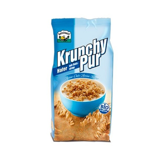 Muesly Krunchy Pur avena sin azucar bio Barnhouse 375 gr