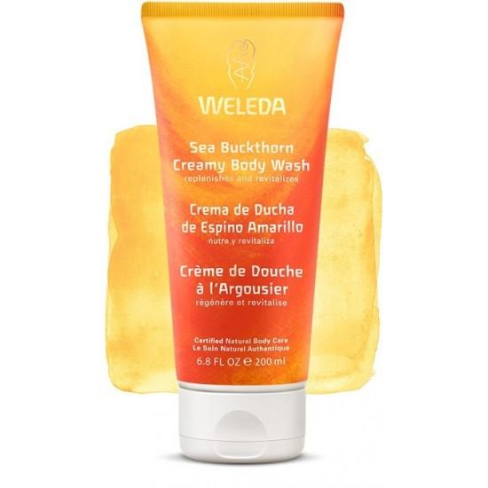 Crema ducha espino amarillo Weleda 200 ml