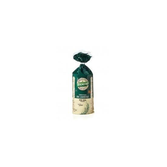 Tortitas de Arroz sin sal ecológicas Biocop 200 gr