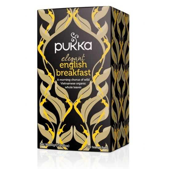Infusión pukka english breakfast bio Pukka 20x2,5gr