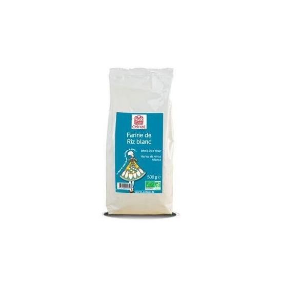 Harina arroz blanca bio Celnat 500 gr