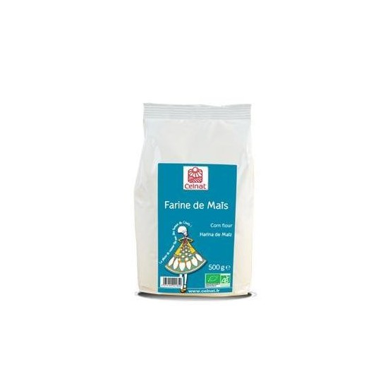 Harina maíz bio Celnat 500 gr