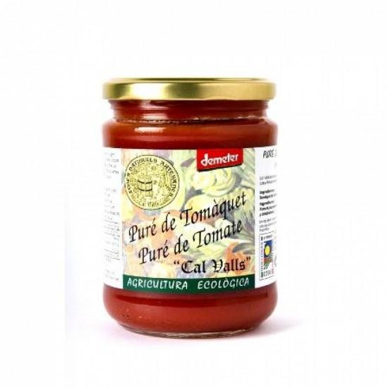 Tomate en pure bio Cal Valls 400 gr