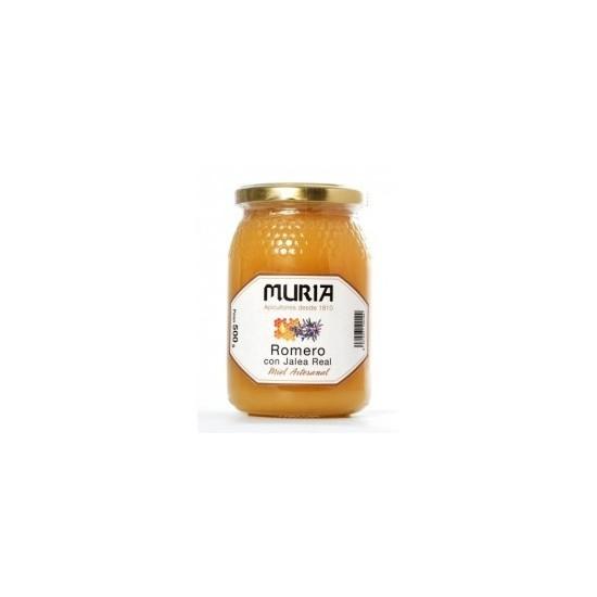 Miel con jalea real Mel Muriza 500 gr