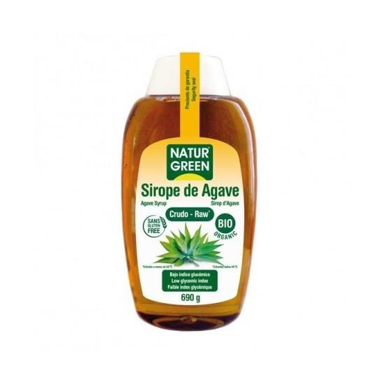 Sirope de agave bio Naturgreen 500 ml