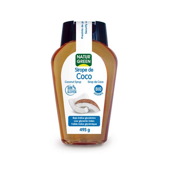 Sirope de coco bio Naturgreen 495 gr