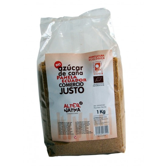 Azucar panela bio Equador Alternativa3 1 kg