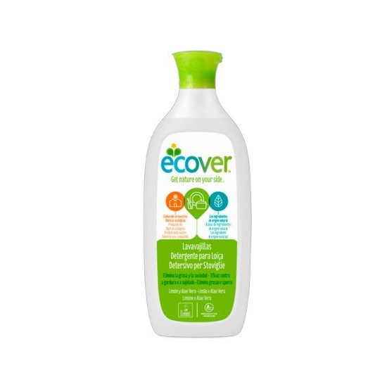 Lavavajillas limon aloe vera Ecover 1 lt
