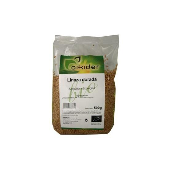 Linaza dorada bio Aikider 500 gr