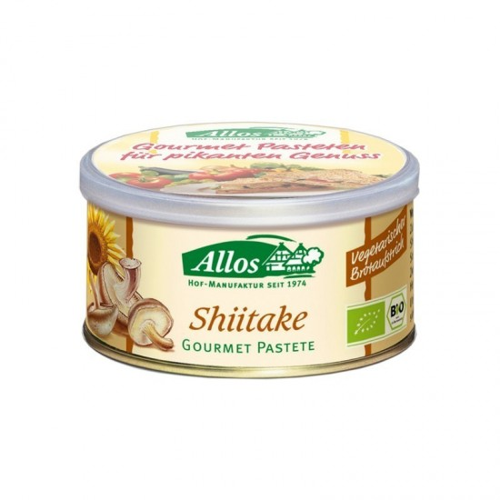 Pate Ecológico Vegetal Shiitake Bio Allos 125 gr