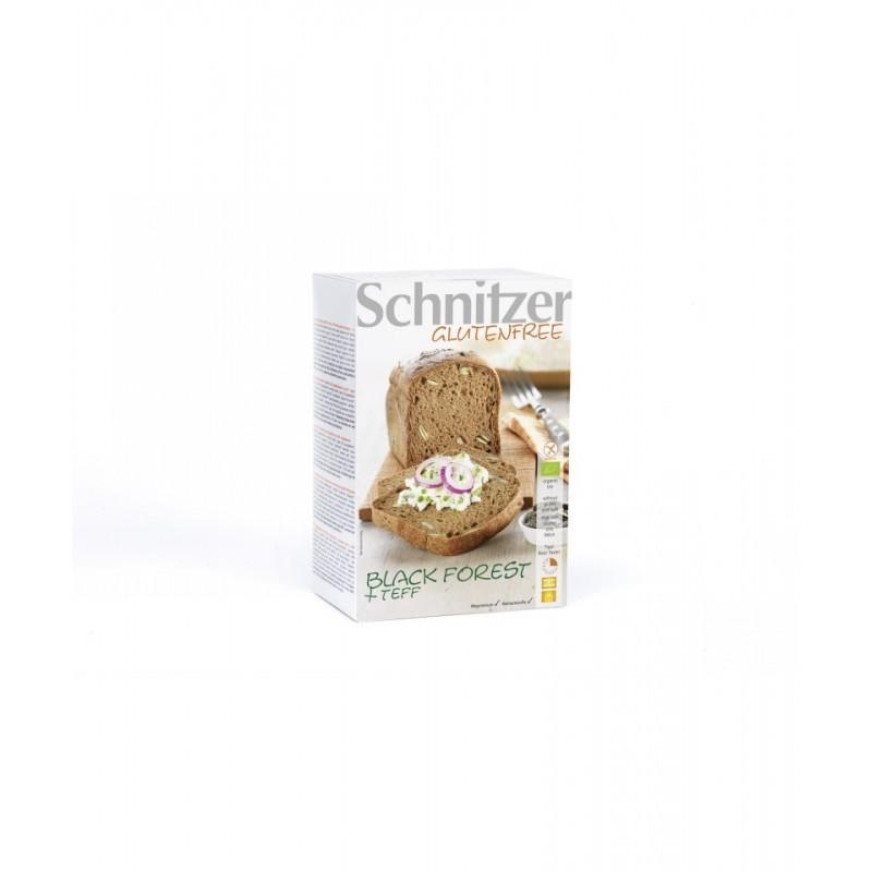 Pan con pepitas de calabaza y teffsin gluten bio Schnitzer 500 gr