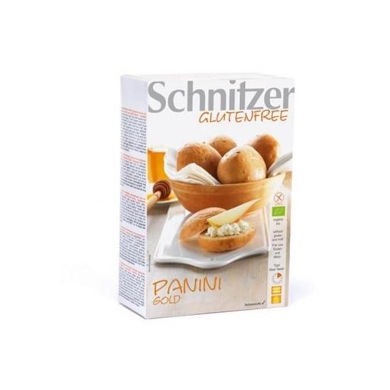 Pan con pepitas girasol sin glutenbio Schnitzer 500 gr