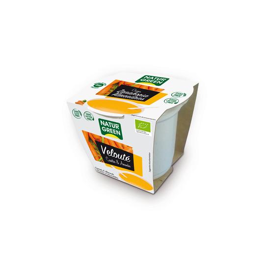 Crema zanahoria almendra bio Naturgreen 310 gr
