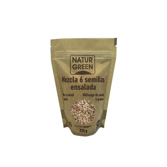 Tubio mezcla 6 semillas deensalada bio Tu Bio 225 gr
