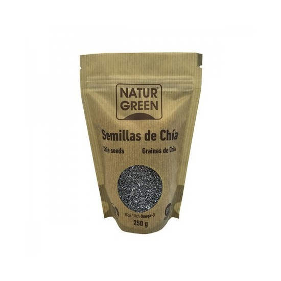 Tubio semillas de chia bio Naturgreen 225 gr