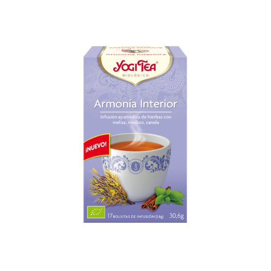 Yogi tea armonia interior bio Natursoy 17x1