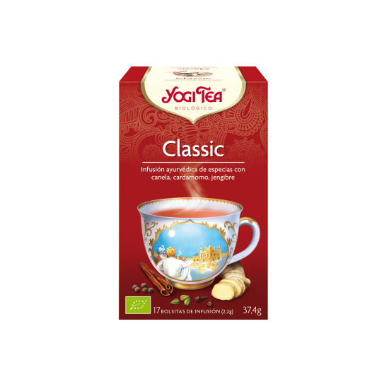 Yogi tea classic filtros bio Natursoy 17x2