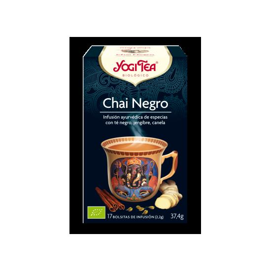 Yogi tea chai negro bio Natursoy 17x2