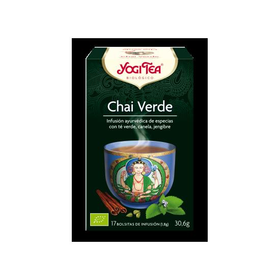 Yogi tea chai verde filtros bio Natursoy 17x1