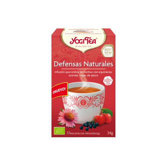 Yogi tea defensas naturales filtros bio Natursoy 17x2gr