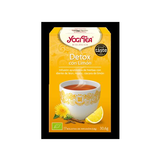 Yogi tea detox con limon bio Natursoy 17x1