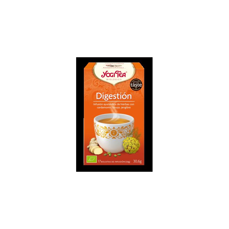 Yogi tea digestion filtros bio Natursoy 17x1