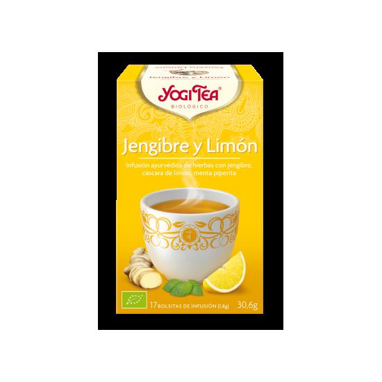 Yogi tea jengibre y limon bio Natursoy 17x1
